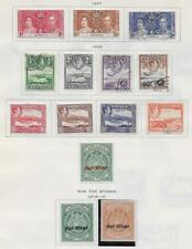 14 Antigua Stamps from Quality  Old Antique Album 1916-1938