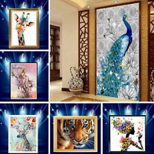 5D Animal Diamond Painting Embroidery Cross Craft Stitch Decor Diy Accessories