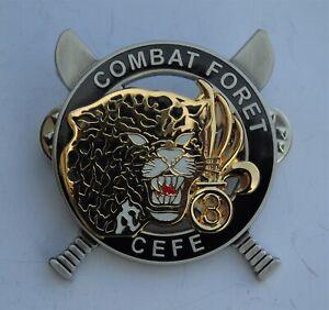 French Foreign Legion 3 REI Jungle Training Centre Guiana CEFE Badge/Brevet