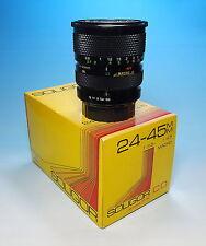 Soligor C/D Zoom Macro 3.5-4.5/ 24-45mm  Pentax K Objektiv lens objectif - 81437