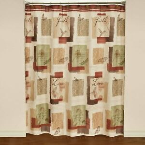 "Saturday Knight Ltd Inspire High Quality Shower Curtain - 70X72"" Multicolor"