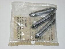 Vintage Off-Center Lock Corp. Split Screw/Twist Cap Fishing Sinkers Mint In Bag
