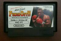 Famicom Punch Out Punchout !! Japan FC game US Seller