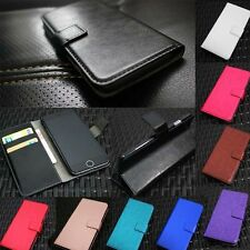 Luxury Magnetic Flip Wallet Card Slot PU Leather Phone Case Cover For LG Series
