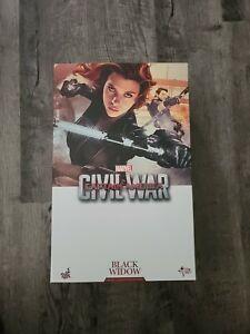 Hot Toys 1/6 Captain America Civil War Black Widow MMS365 USA
