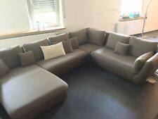 Couch Couchgarnitur Wohnlandschaft  Sofa U-Form Luxus Design
