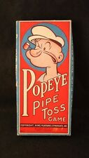 Rare Red Box Popeye Ring Toss Game 1935 Rings Intact