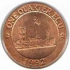 Engeland / United Kingdom 1/4 Ecu 1992 (b084)