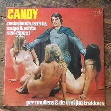 """PEER MULLENS & De Vrolijke Trekkers - Candy - Cheescake Cover Nude VINYL 12"""" LP"""