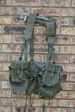 Vietnam M-1956 M56 Load Carrying Equipment Web Gear Set- EXC+