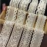 2 Yards Vintage Lace Bridal Wedding dress decoration Trim Cotton Ribbon Sewing