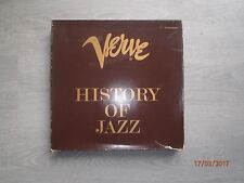 Verve-History Of Jazz Boxset with Book and 10 Lps