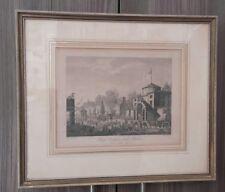 """Org. Kupferstich von 1816 """"Freye Einfuhr nach Paris den 1. May 1791"""""""