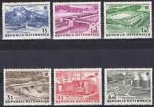 Oostenrijk postfris 1962 MNH 1103-1108 - Electriciteits Centrales