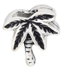 Palm Tree Beach Tropical Island Hawaii Vacation Charm for European Bead Bracelet