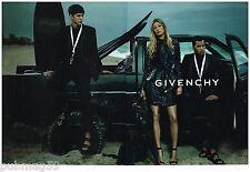 Publicité Advertising 2012 (2 pages) Haute couture Givenchy avec Gisele Bundchen