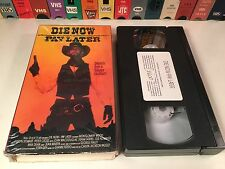 * Die Now Pay Later aka Blood For A Silver Dollar VHS 1965 Spaghetti Western