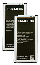 2 X Original Samsung Galaxy 2800 mAh Batteries EB-BG900BU for Galaxy S5 i9600