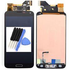 Vitre tactile Noir et écran LCD Hoem Button pour Samsung Galaxy S5 I9600 G900F