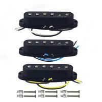3pcs OriPure Alnico 5 Single Coil Strat Guitar Pickup Set Neck + Middle + Bridge