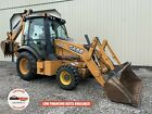 2015 CASE 580N LOADER BACKHOE, CAB, 4X4, EXTENDAHOE, OUTRIGGERS, 1647 HOURS