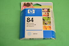 HP 84 luz tinta cian genuino Original c5017a en caja fecha 2008/2009