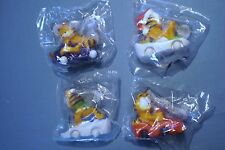 Carl's Jr. 1997 Garfield - Complete Set of 4 MIP