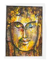 Peinture Da Budda Artista Noto Nepal Artigianale Capolavoro Unica 8485