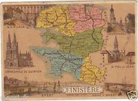 Ancienne Image du type Bon Point : Le Finistère