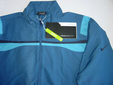 GENUINE NIKE GOLF WINDPROOF 1/2 ZIP JACKET FRENCH BLUE OBSIDIAN MENS SMALL S NWT