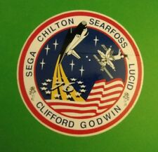 New Official NASA STS-76 Sticker Decal - Direct from NASA MSFC