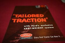 Ford Tractor Tailored Traction Dealers Brochure AMIL15