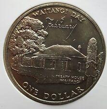 NEUSEELAND: 1 DOLLAR 1977,  25. THRONJUB. V. ELISABETH II., (Alb03B18), STGL.