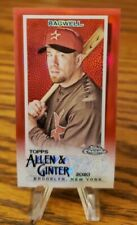2020 Allen & Ginter Chrome Jeff Bagwell #8 Mini Red 2/5