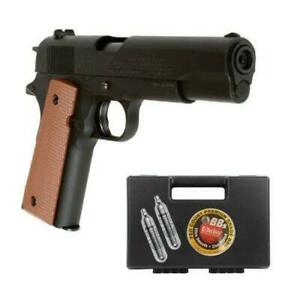 Daisy Remanufactured 11A1 Air Pistol Kit - .177 Caliber BB with Hard case