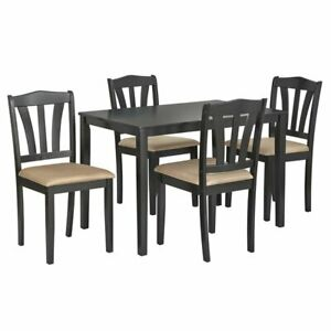 Global Industrial 5-Piece Dining Set, Multiple Colors