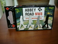 New! Two Boxed Beatles Abbey Road Packs of Playing Cards.