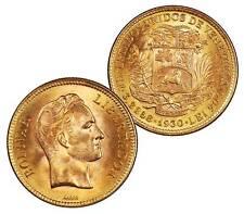 Venezuela 1930 Gold 10 Bolivares in BU
