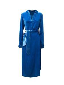 NRBY Velvet Maddie Shirt Silk Blend Dress Sizes Small & Large NEW RRP £250
