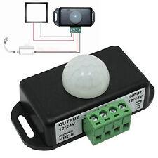 8A DC 12V-24V Automatic Infrared PIR Motion Sensor Detector Switch for LED Light