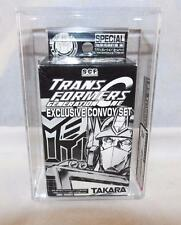Transformers 2002 AFA 80 Wonderfest Exclusive Takara SCF Convoy Set MISB