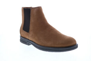 Clarks Banning Limit 26151752 Mens Brown Nubuck Chelsea Boots