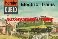Hornby Dublo Deltic 1962 Poster A3 Size Shop Display Sign Leaflet Advert