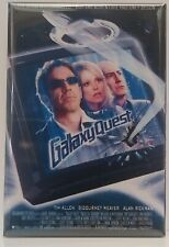 "Galaxy Quest Magnet 2""x3"" Refrigerator Locker Movie Poster"