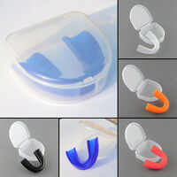 Mundschutz Zahnschutz Mit Box Mundschützer Zahnschützer Mouth Guard-Set D9P8