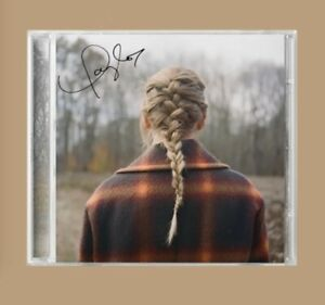 Taylor Swift signed evermore CD *SHIPS INTERNATIONALLY* (pre-order)