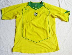 BRAZIL Nike Home Shirt 2004/06 (L)
