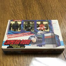 Camera Robo Complete In Box Vintage G1 Transformers Micro Change