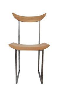 Dining Oak Chair TianAnMan Unique designer chair steel metal handmade quality