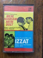 MERE HAMDAM DOST / IZZAT Laxmikant Pyarlel tape Cassette LP Bollywood Soundtrack